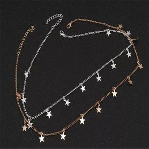 Jewelry - ⚜️[𝟯/$𝟭𝟴]⚜️Gold Star Delicate Simple Choker New